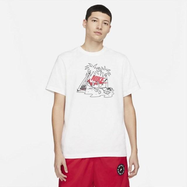 ナイキ フューチュラ ツリー S/S Tシャツ NIKE ホワイト メンズ Tシャツ DD1259-100