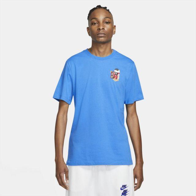 ナイキ NSW シューボックス S/S Tシャツ NIKE BLUE メンズ Tシャツ DD1261-435