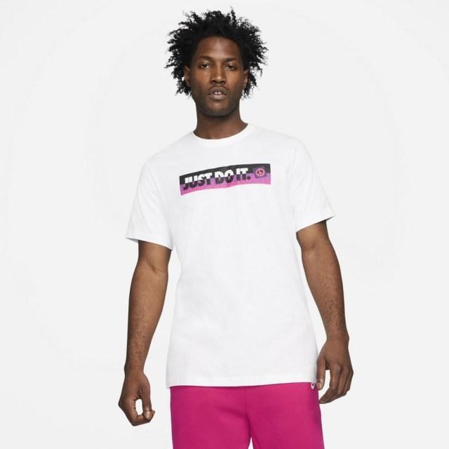 ナイキ スポーツウェア Tシャツ NIKE ホワイト メンズ Tシャツ DD1277-100