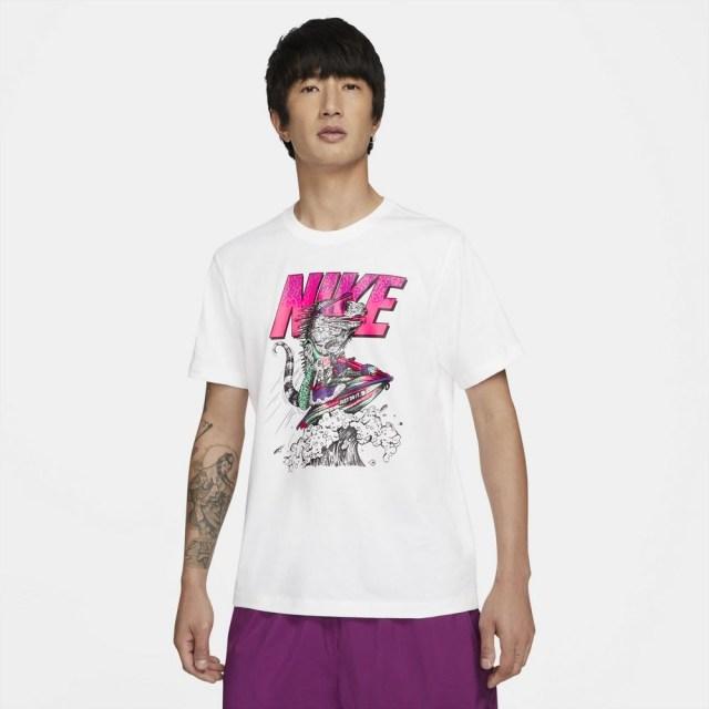 ナイキ スポーツウェア Tシャツ NIKE ホワイト メンズ Tシャツ DD1281-100