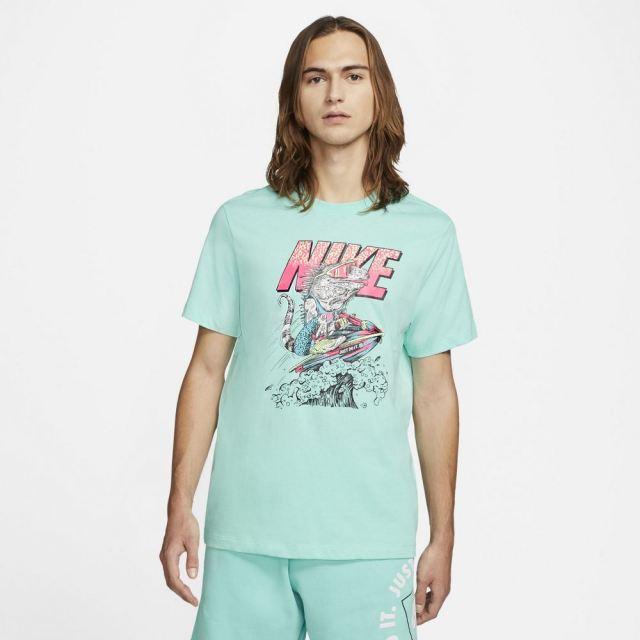 ナイキ NSW ビーチ ジェット スキー S/S T NIKE TROPICAL TWIST メンズ Tシャツ DD1281-307