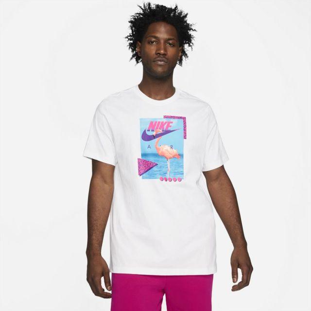 ナイキ NSW ビーチ フラミンゴ S/S Tシャツ NIKE WHITE メンズ Tシャツ DD1283-100