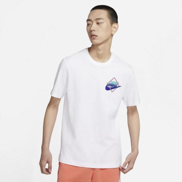 ナイキ ポーツウェア Tシャツ NIKE ホワイト メンズ Tシャツ DD1285-100