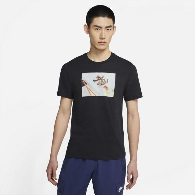 ナイキ スポーツウェア Tシャツ NIKE ブラック メンズ Tシャツ DD1327-010