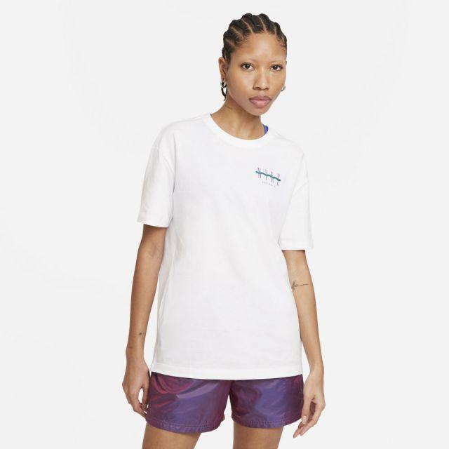 ナイキ WS NSW ボーイ ヴィンテージS/S T NIKE ホワイト レディース Tシャツ DD1480-100
