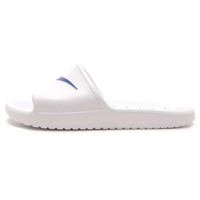 NIKE ナイキ メンズ サンダル カワ シャワー ホワイト/ブルームーン 832528-100 [スポーティー/カジュアル/海/ビーチ/軽量]