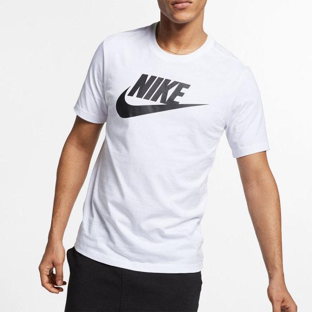 NIKE ナイキ メンズ ウェア フューチュラ アイコン S/S Tシャツホワイト AR5005-101