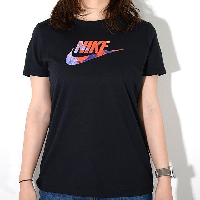 NIKE ナイキ ウィメンズ レディースウェア ウィメンズ サマー 1 Tシャツ ブラック BQ3709-010