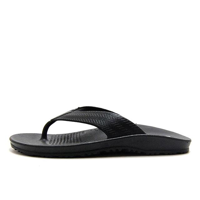 OKABASHI オカバシ メンズ サンダル Surf Flip Flop Black O-50001-010 [海/ビーチ/カジュアル/シンプル]