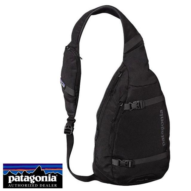 <20%OFF SALE セール> Patagonia パタゴニア バッグ ショルダーバッグ ATOM SLING アトム・スリング Black ブラック 48260-BLK [アウトドア/ワンショルダー/撥水]