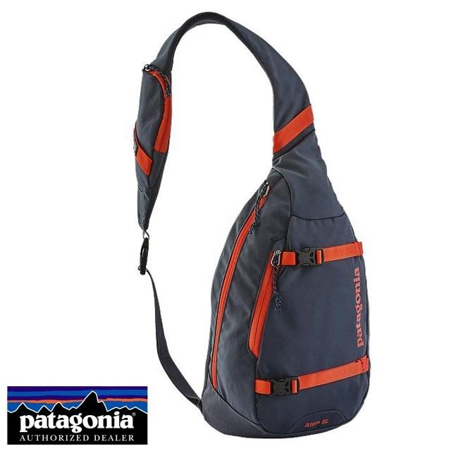 <20%OFF SALE セール> Patagonia パタゴニア バッグ ショルダーバッグ ATOM SLING アトム・スリング Smolder Blue w/Glass Blue ブルー 48260-SBGA [アウトドア/ワンショルダー/撥水]