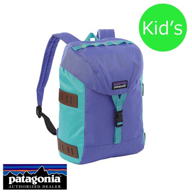 Patagonia パタゴニア バッグ バックパック リュック KIDS' BONSAI PACK 14L キッズ・ボンサイ・パック14L Violet Blue バイオレットブルー 48070-VLTB [アウトドア/トレイル/旅行/デイパック/パープル/ジュニア/子供/撥水/国内正規販売店/Authorized Dealer]