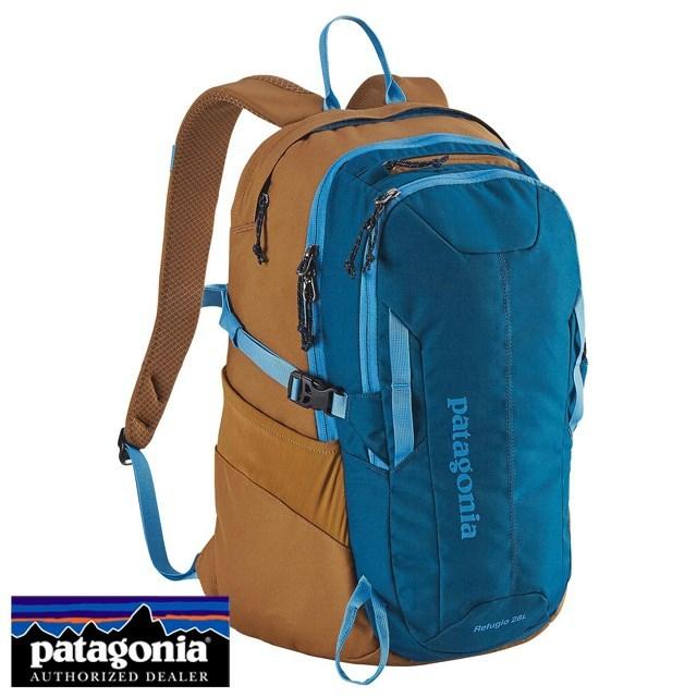 Patagonia パタゴニア バッグ バックパック リュック REFUGIO PACK 28L レフュジオ・パック 28L Big Sur Blue ブルー 47911-BSRB [アウトドア/旅行/デイパック/撥水/国内正規販売店/Authorized Dealer]