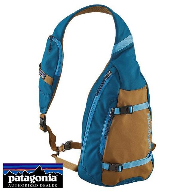 Patagonia パタゴニア バッグ ショルダーバッグ ATOM SLING アトム・スリング Big Sur Blue ブルー 48260-BSRB [アウトドア/ワンショルダー/撥水/国内正規販売店/Authorized Dealer]
