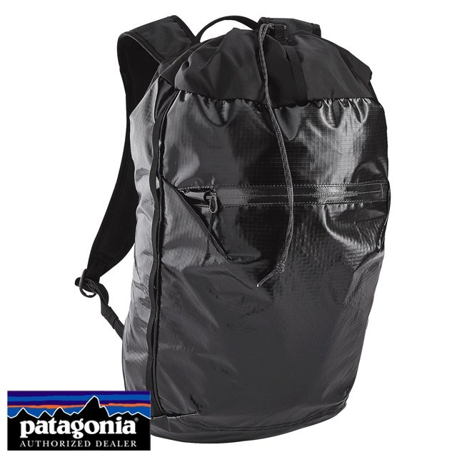 Patagonia パタゴニア バッグ バックパック リュック Lightweight Black Hole Cinch Pack 20L ライトウェイト ブラックホール シンチ パック 20L Black ブラック 49040-BLK [アウトドア/旅行/デイパック/撥水/軽量]
