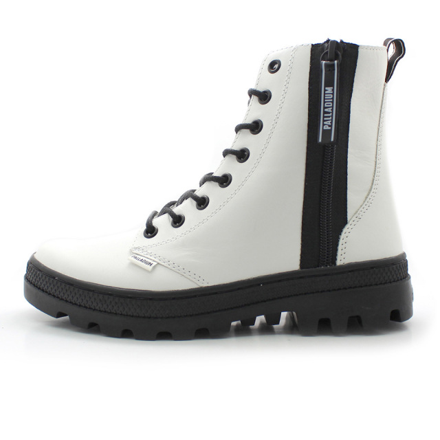 パラディウム パラボス アウトジップ レザー PALLADIUM PALLABOSSE OUTZIP LTH WHITE レディース ブーツ 96840-100