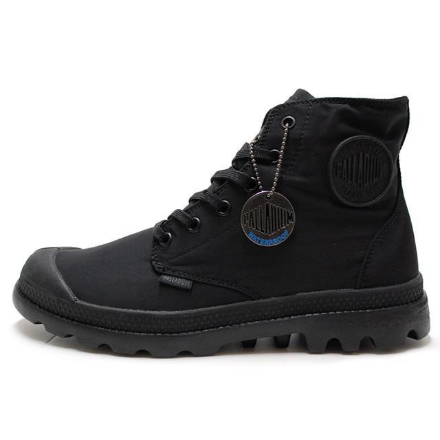 PALLADIUM パラディウム メンズ レディース ブーツ Pampa Puddle Lite WP パンパパドルライト WP Black/Black ブラック/ブラック 73085-060 [レインブーツ/スニーカー/雨/梅雨/防水/雨靴/長靴/野外フェス/ウォータープルーフ]