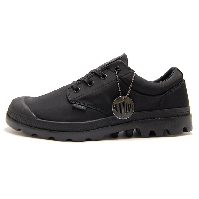 PALLADIUM パラディウム メンズ レディース スニーカー Pampa Oxford Puddle Lite WP パンパ オックスフォード パドル ライト WP Black/Black ブラック/ブラック 75427-060 [ローカット/レインシューズ/雨靴/防水/ウォータープルーフ/ユニセックス]
