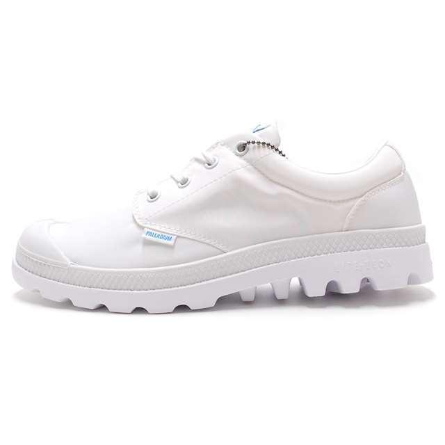 <30%OFF SALE> PALLADIUM パラディウム メンズ レディース スニーカー Pampa Oxford Puddle Lite WP White/White 75427-912 [ローカット/レインシューズ/雨靴/防水/ユニセックス]【返品交換不可】