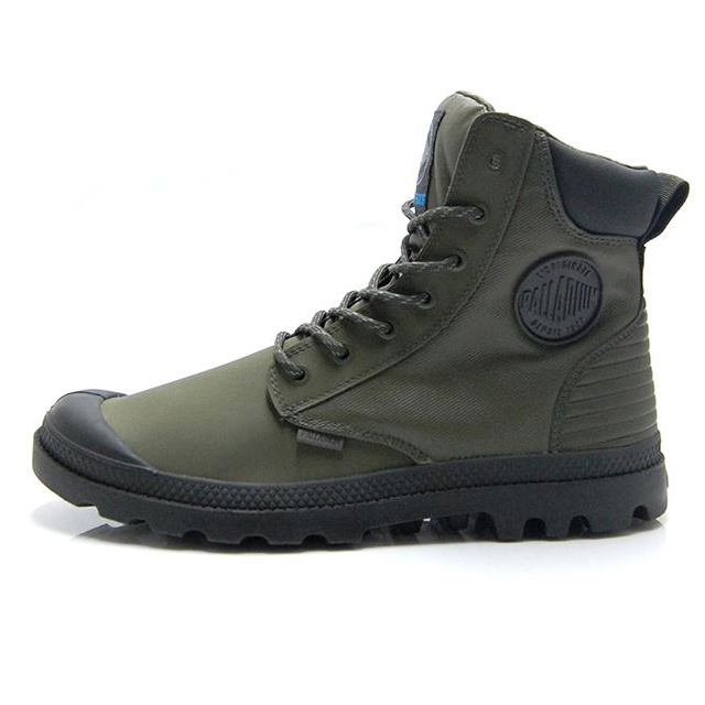 パラディウム パンパ SC シャドウ WPR PALLADIUM PAMPA SC SHADOW WPR OLIVE NIGHT/BELUGA 05925-327
