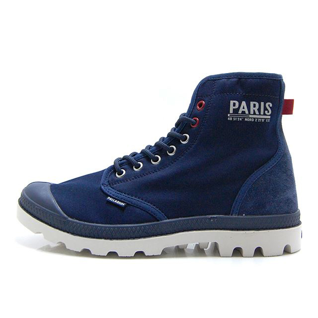パラディウム パンパ ソリッド レンジャー パリ PALLADIUM Pampa Solid Ranger PAR PARIS Navy Blazer/Moonbeam/Chilipepper 76014-408