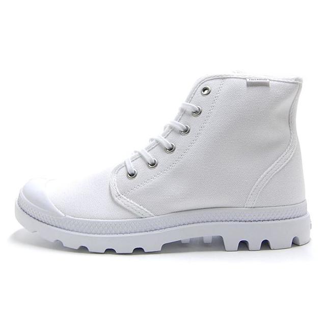 パラディウム PALLADIUM ブーツ メンズ レディース パンパ ハイ オリジナーレ PAMPA HI ORIGINALE WHITE/WHITE ホワイト 75349-101