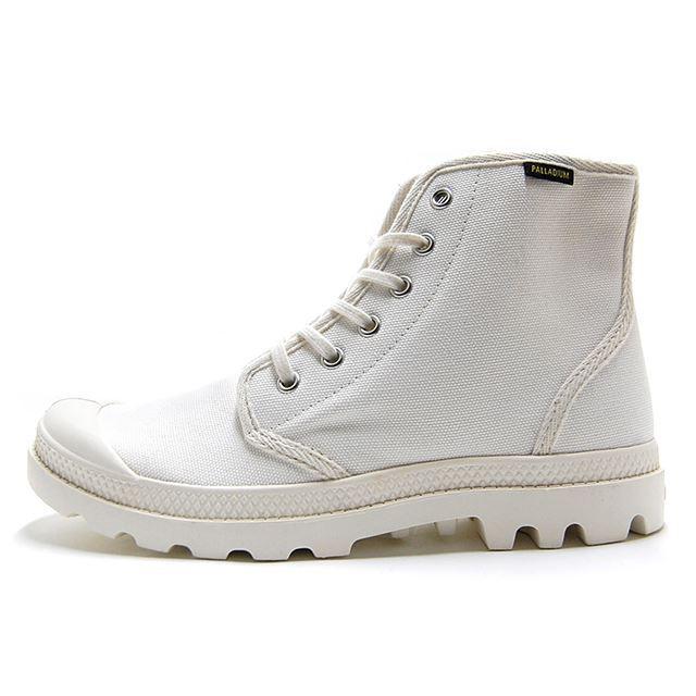 パラディウム PALLADIUM ブーツ メンズ レディース パンパ ハイ オリジナーレ PAMPA HI ORIGINALE MRSHMLLW ホワイト 75349-112