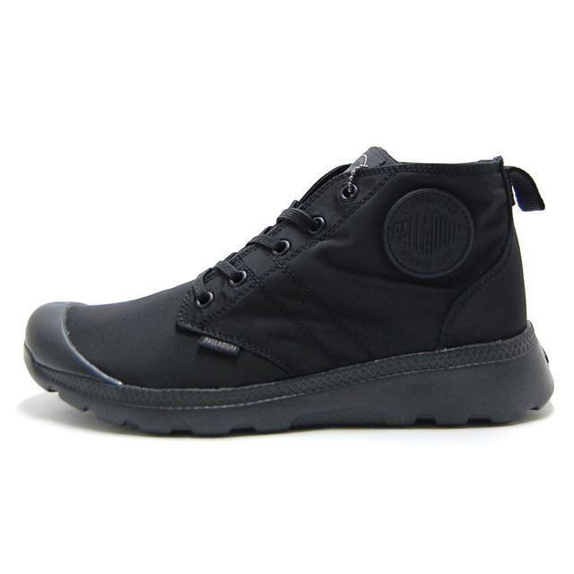 パラディウム PALLADIUM ブーツ メンズ 防水 レイン ブーツ パラビルミッド パドル PALLAVILE MID PUDDLE BLACK/BLACK ブラック 75611-001