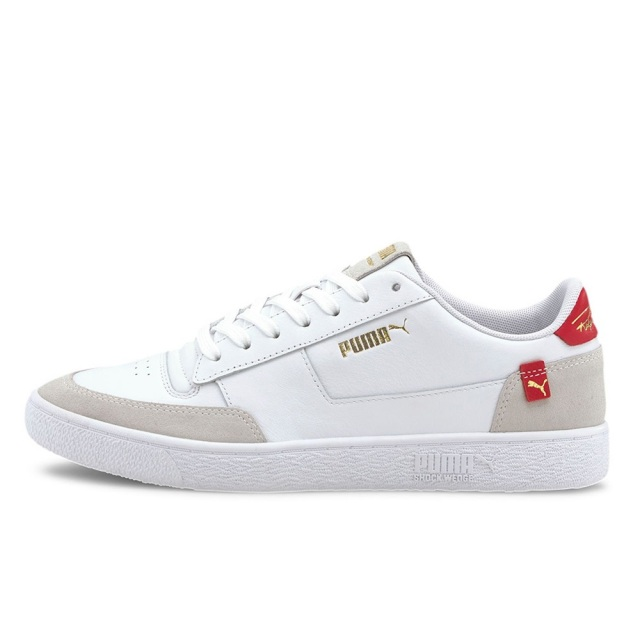 プーマ ラルフサンプソン MC クリーン PUMA RALPH SAMPSON MC CLEAN PUMA WHITE / HIGH RISK RED / PUMA WHITE メンズ スニーカー 374068-03