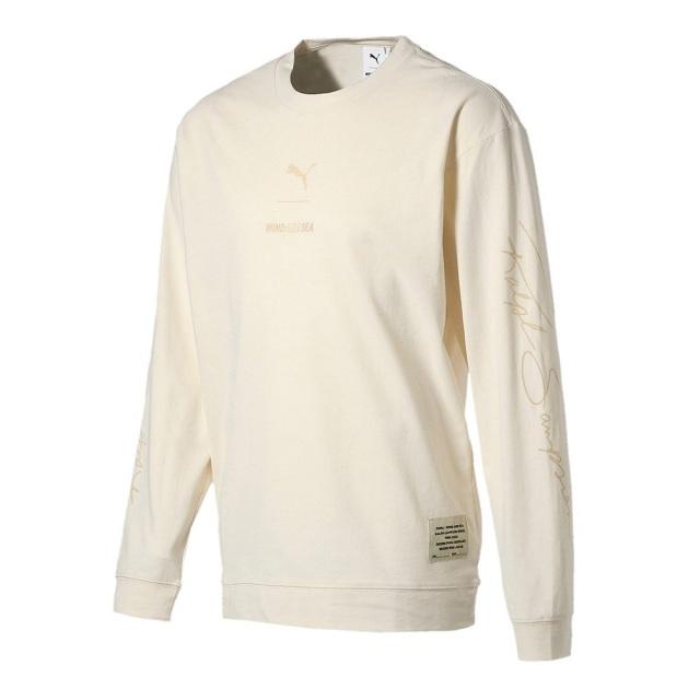 プーマ PUMA x WIND AND SEA BYE DYE LS TEE メンズ Tシャツ ロンT 長袖Tシャツ 530633-01