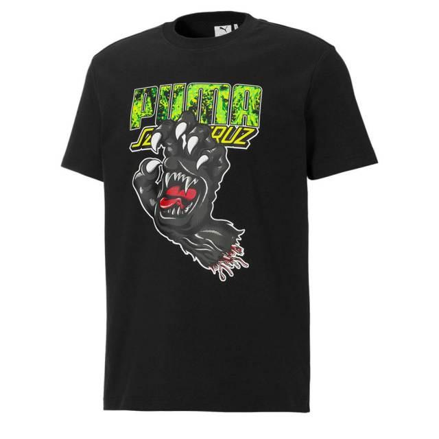 プーマ サンタクルーズ TEE PUMA SANTA CRUZ TEE PUMA BLACK メンズ Tシャツ 532243-01
