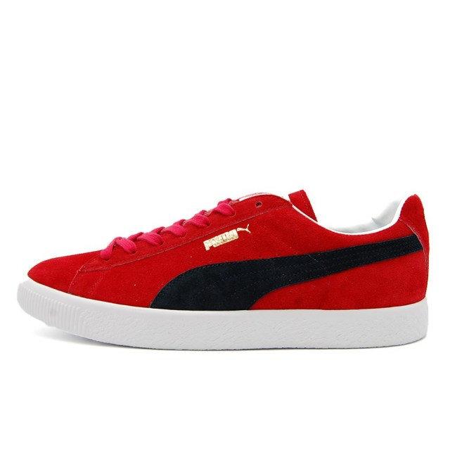 プーマ スウェード VTG MIJ レトロ PUMA SUEDE VTG MIJ RETRO HIGH RISK RED / PUMA NEW NAVY メンズ スニーカー 380537-02