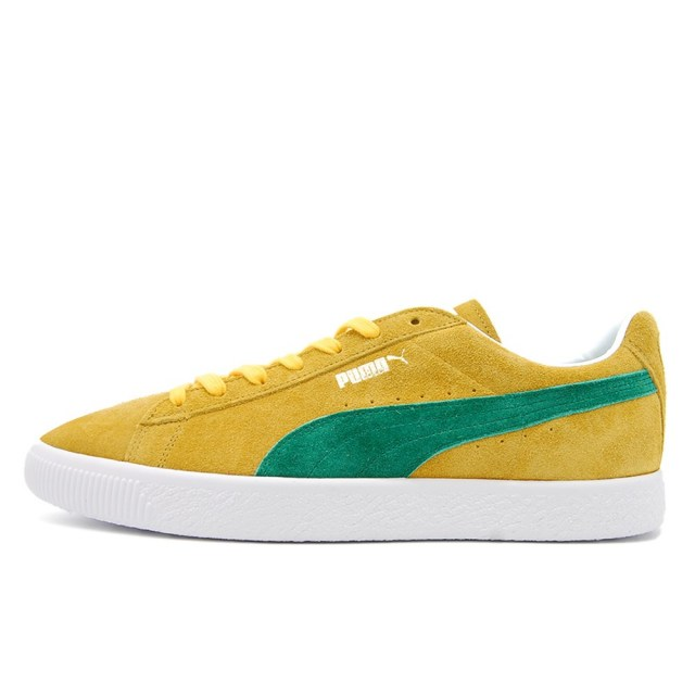 プーマ スウェード VTG MIJ レトロ PUMA SUEDE VTG MIJ RETRO SPECTRA YELLOW / AMAZON GREEN メンズ スニーカー 380537-03