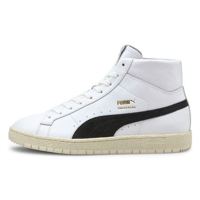 プーマ ユニバーサル OG PUMA UNIVERSAL OG White/Black メンズ スニーカー 381201-01