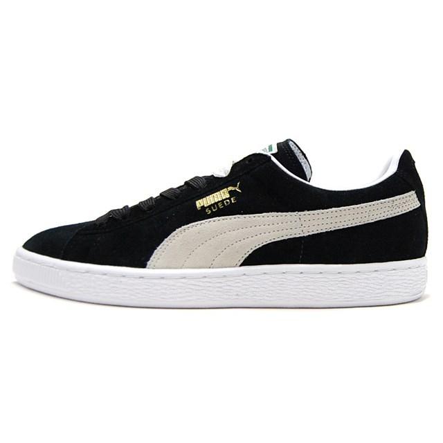 PUMA Suede Classic+ BLACK/WHITE 352634-03
