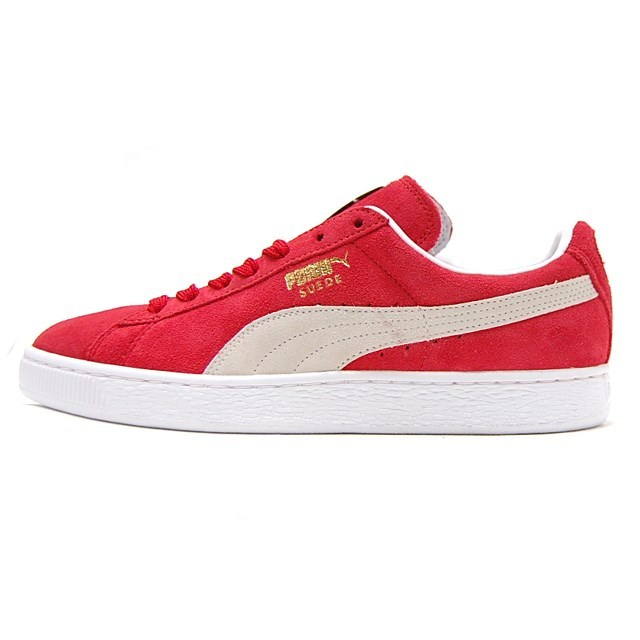 PUMA Suede Classic+ TEAM REGAL RED/WHITE 352634-05