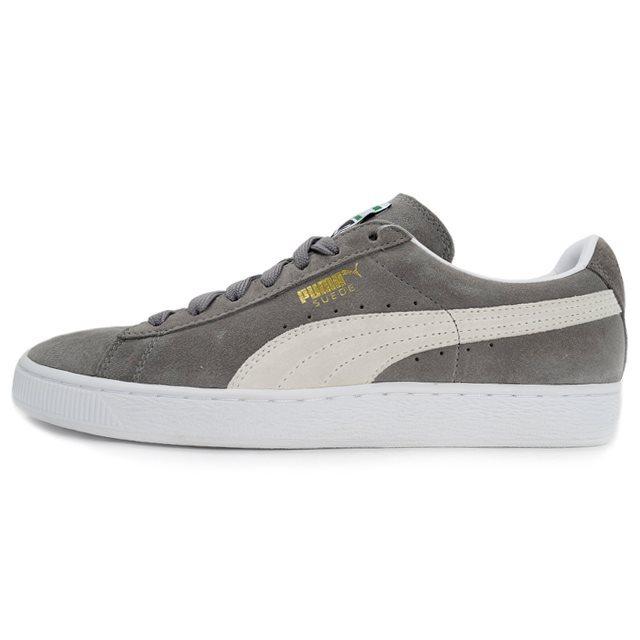 PUMA SUEDE CLASSIC + Steeple Gray/White 352634-66