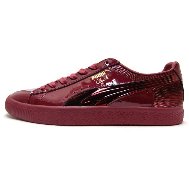 PUMA プーマ メンズ スニーカー CLYDE WRAITH クライド レイス Cordovan/Cordovan コードバン/コードバン 363512-02 [取扱店舗限定/LIMITED EDITION/ワイン/ボルドー/Walt Clyde Frazier/国内正規販売店/Authorized Dealer]