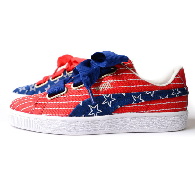 PUMA Basket Heart 4th July Wns FM 364808-01