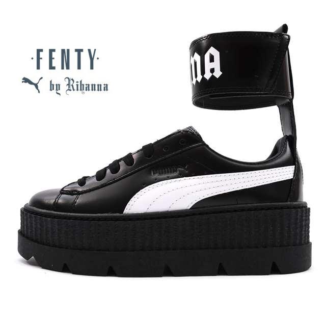 プーマ PUMA スニーカー レディース PUMA FENTY BY RIHANNA フェンティ バイ リアーナ アンクル ストラップ スニーカー Ankle Strap Sneaker Wn's Puma Black-Puma White ブラック 366264-03