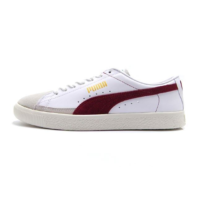 PUMA Basket 90680 Puma White-Pomegranate 365944-04