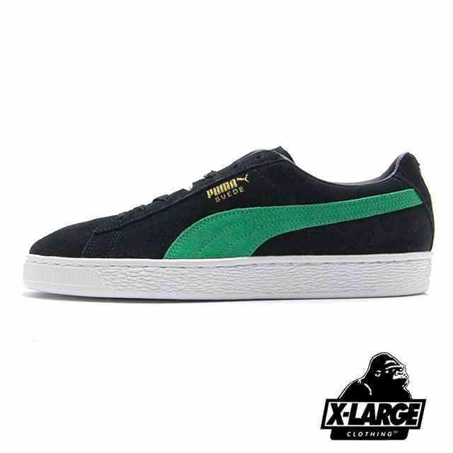 PUMA SUEDE CLASSIC X XLARGE Puma Black-Kelly Green 366307-01
