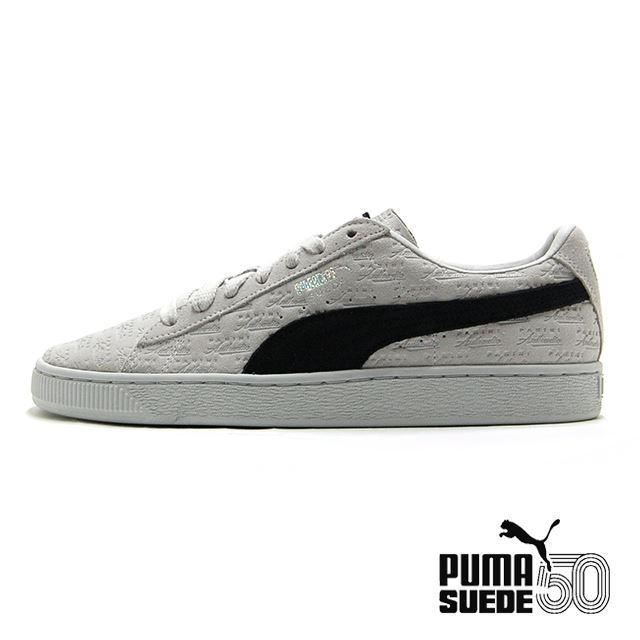 PUMA SUEDE CLASSIC x PANINI Puma White-Puma Black 366323-01