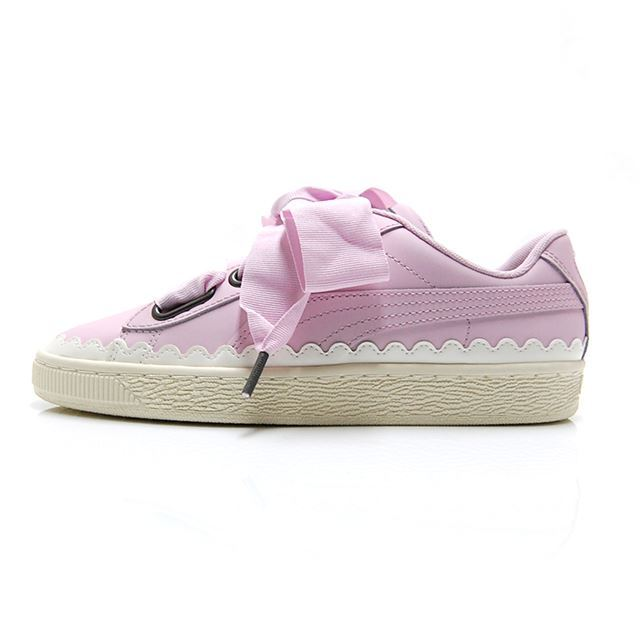PUMA BASKET HEART SCALLOP WNS Winsome Orchid 366979-02