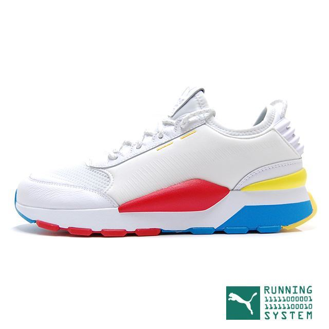 "PUMA RS-0 PLAY ""RS-0 PLAY PACK"" WHITE 367515-01"
