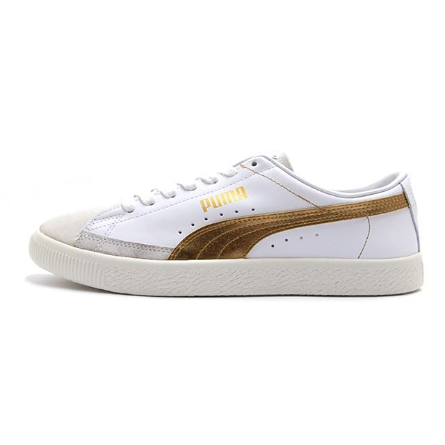 PUMA Basket 90680G Puma White-Gold 367748-02