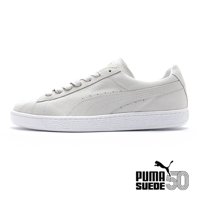 PUMA Suede Classic White MADE IN ITALY 366287-01