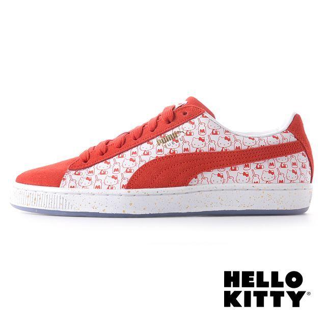 PUMA Suede Classic x Hello Kitty 366306-01