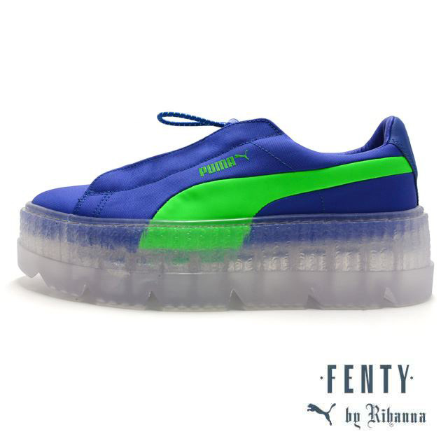 PUMA FENTY BY RIHANNA CLEATED CREEPER SURF DAZZLING BLUE 367681-01