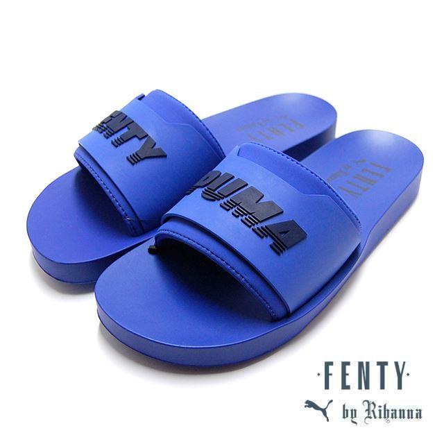 PUMA FENTY BY RIHANNA FENTY SURF SLIDE Wns Dazzling Blue 367747-03